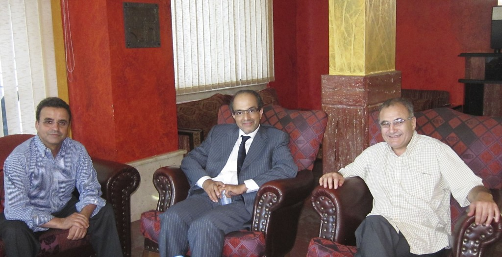 Election Day morning: Drs. Sheikh & Bendago, Mohammed Bashir