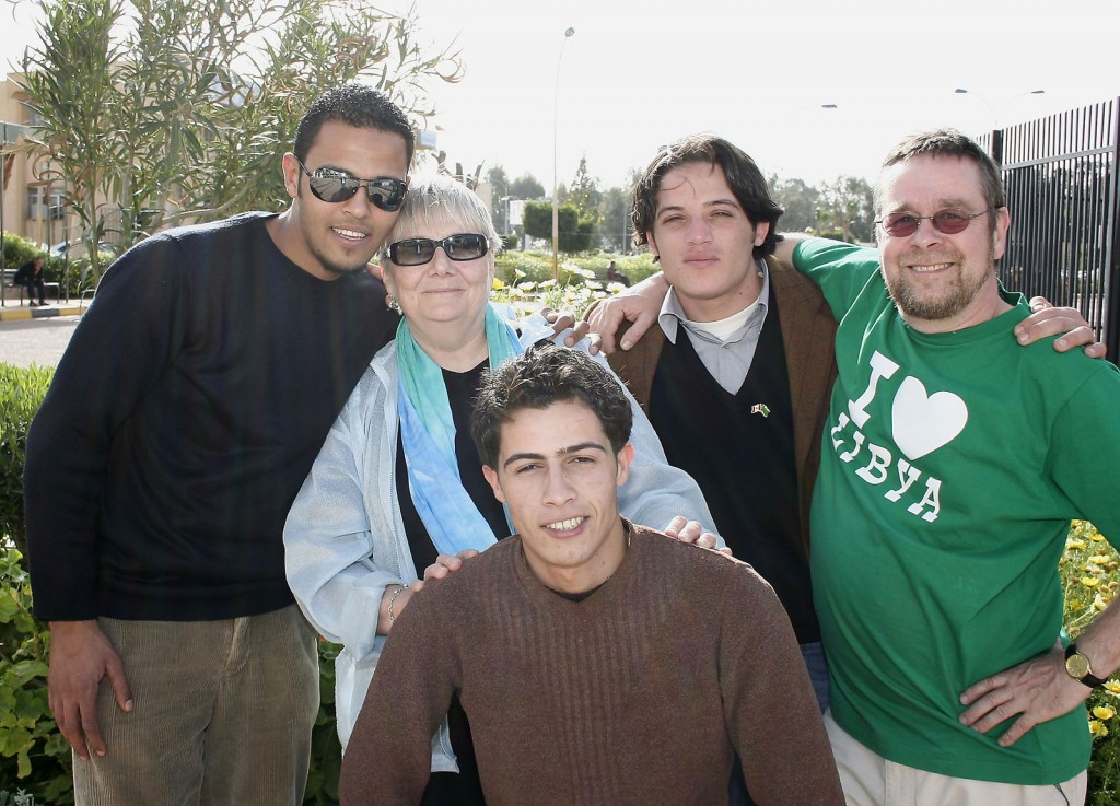 Our last day in Benghazi with Ahmed, AbdulSalam & Ahmed