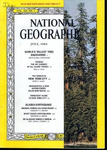 National Geographic, July 1964