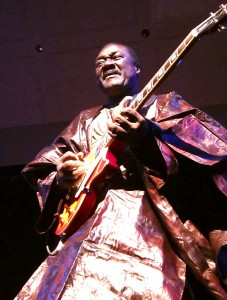 Djelimady Tounkara of Afrocubism playing Town Hall, NYC, Nov. 9, 2011