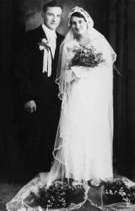 The wedding. July 5, 1936, Sudbury