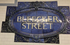 Bleecker St. subway station