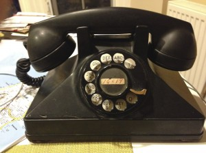 Once again, our 1940's Northern Electric phone came through during a blackout.
